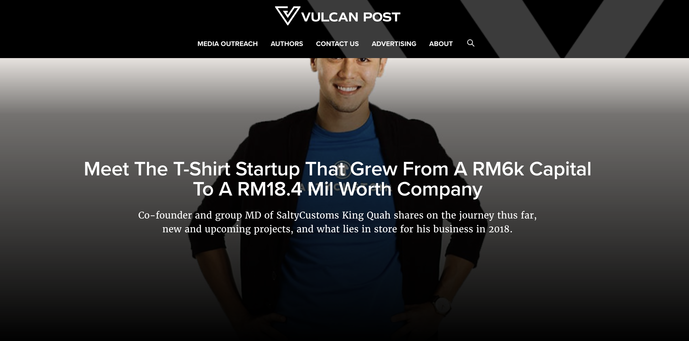 The Tshirt Startup That Grew From RM 6k Capital to RM 18.4 Mil Worth Company