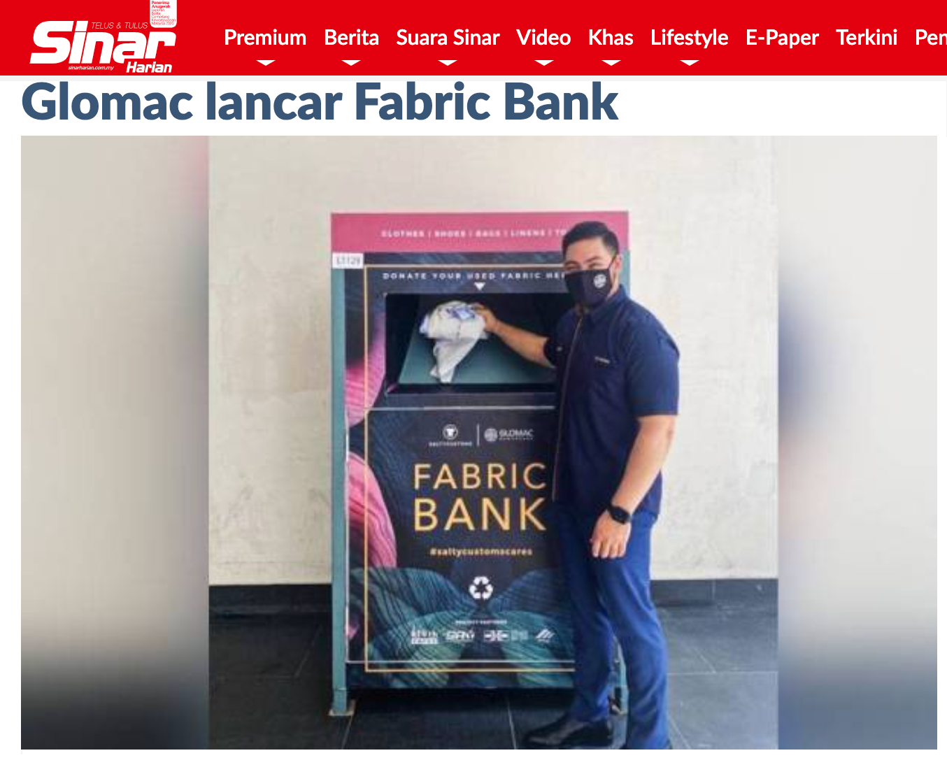 SaltyCustoms teams up with Glomac to launch a Fabric Bank