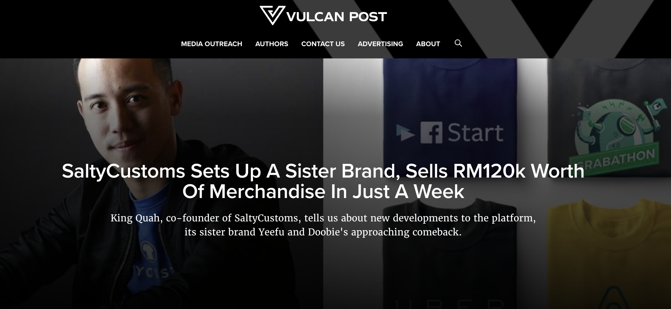 SaltyCustoms Sets Up A Sister Brand, Sells RM120K Worth of Merchandise In Just A Week